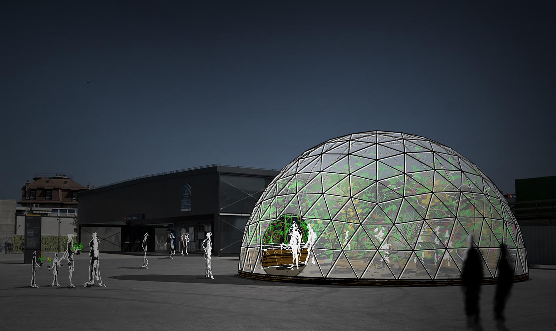 Biosphere chene bourg